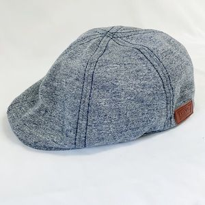 LEVI'S Fitted Chambray Newsboy Cap S/M